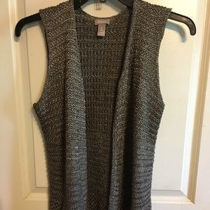Chicos grey sweater vest